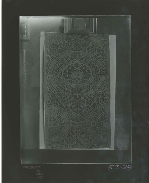 E3-30 Tejido gótico, siglo XV