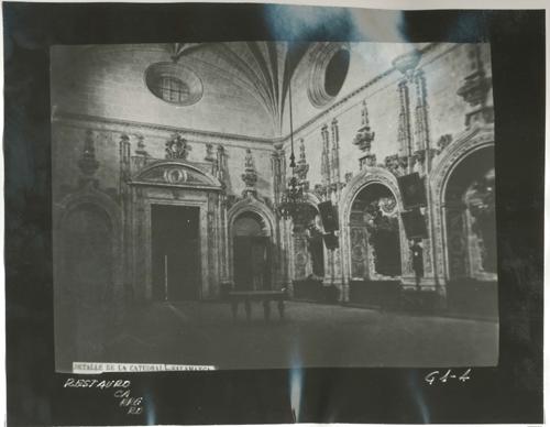 G1-4  Catedral Nueva. Sacristía