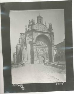 G3-1 Convento de San Esteban. Fachada