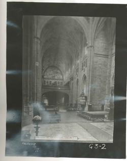 G3-2  Convº de San Esteban. Nave central de la Iglesia