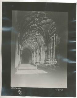 G3-3 Convento de San Esteban. Nave del claustro