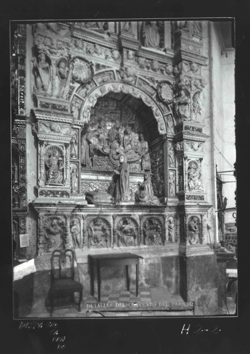 H2-2 El Parral. Sepulcro de la esposa de Juan Pacheco(s.XVI)