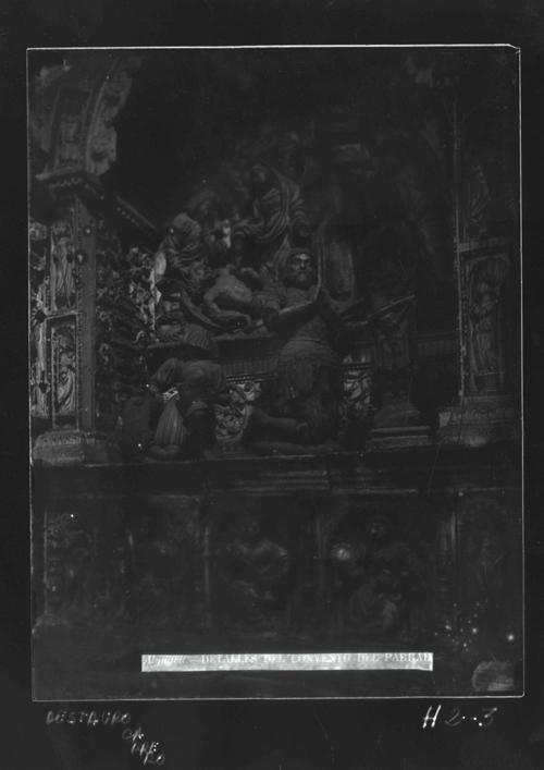H2-3 El Parral. Retablo: Sepulcro de Juan Pacheco (s.XVI)