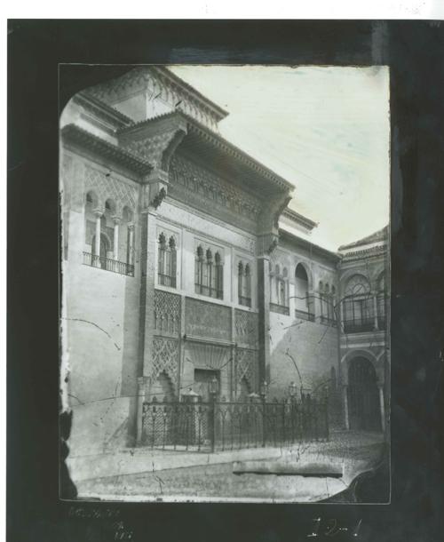 I2-1 Alcázar. Fachada del Palacio del rey D. Pedro