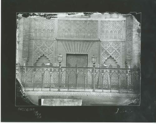 I2-2 Alcázar. Detalle de la fachada del Palacio de D.Pedro