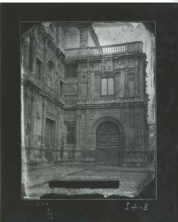 I4-3 Ayuntamiento- Ángulo de la fachada principal