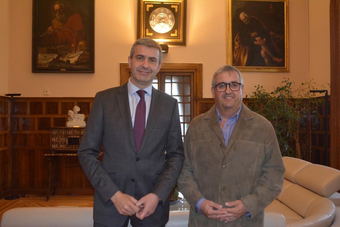 Álvaro Gutiérrez y Andrés Congosto