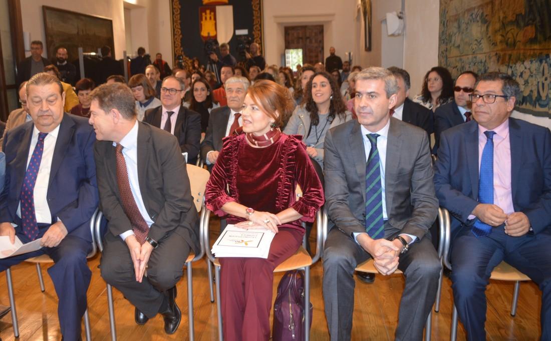 Álvaro Gutiérrez en el acto del Día Internacional de las Personas con Discapacidad