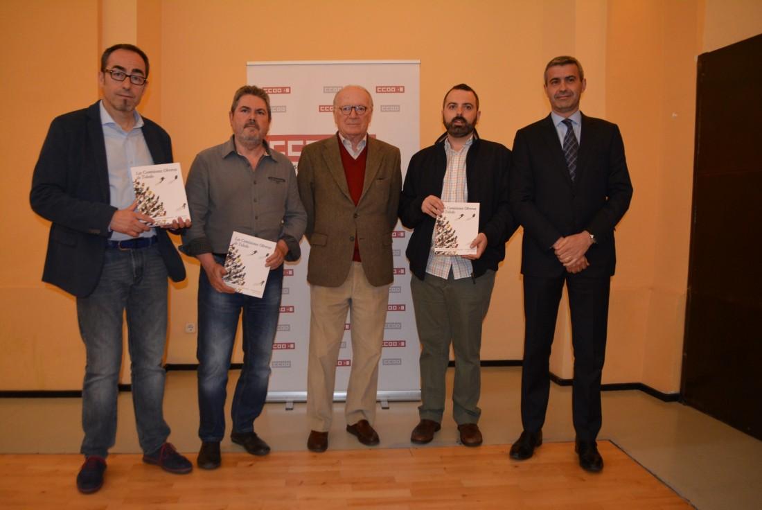 Álvaro Gutiérrez, Nicolás Sartorius, Paco de la Rosa, José Luís Arroyo, y Jesus García Villaraco
