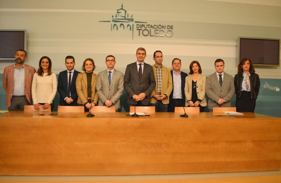 El Gobierno de la Diputación Provincial de Toledo presenta el Proyecto de Presupuestos 2019