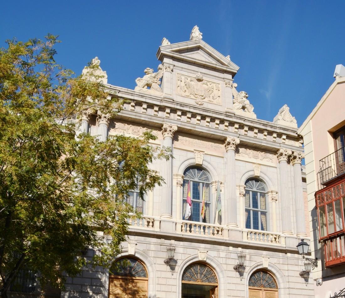 Fachada del Palacio de la Diputación de Toledo