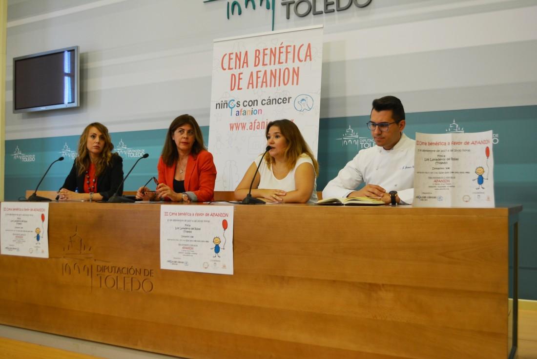 Elvira Manzaneque, Eva Ocaña, Olga Prieto y Javier Chozas