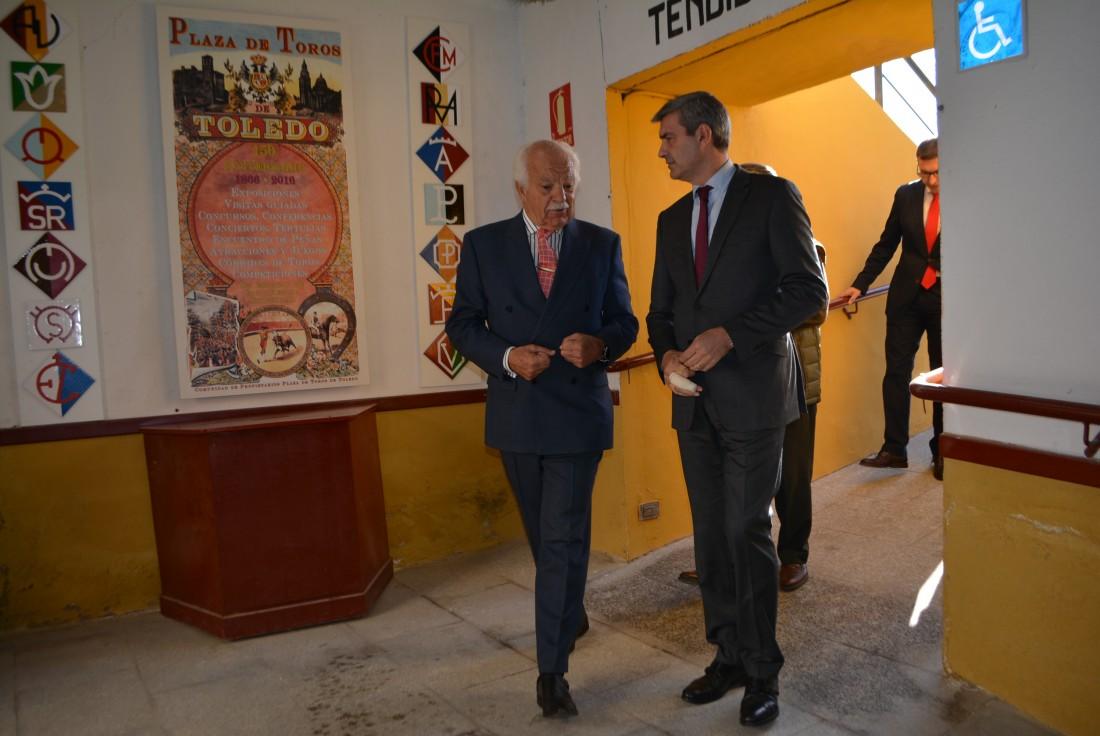 Álvaro Gutiérrez, Eduardo Martín-Peñato y Fernando Muñoz