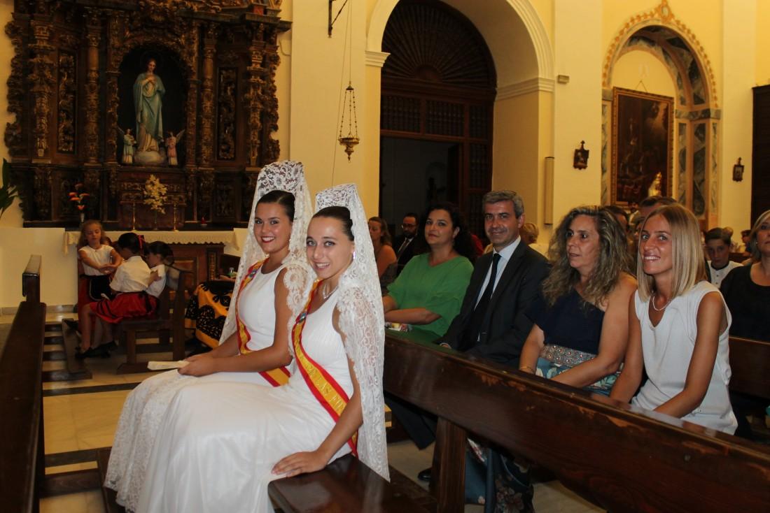 Álvaro Gutiérrez en las fiestas de Santo Domingo Caudilla