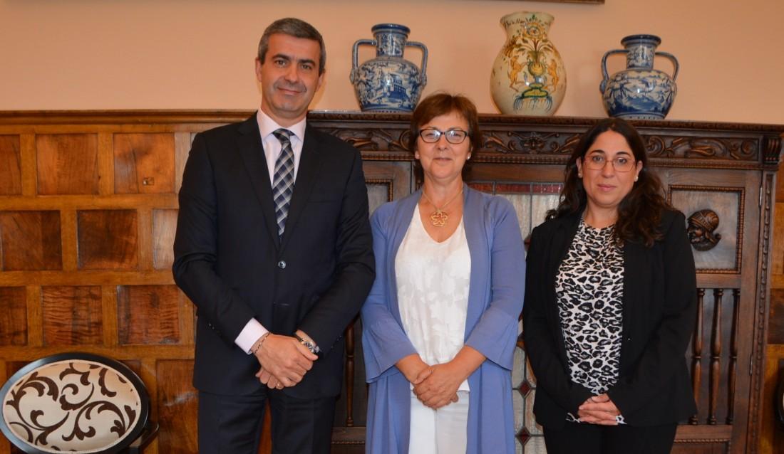 Álvaro Gutiérrez con María Ángeles González