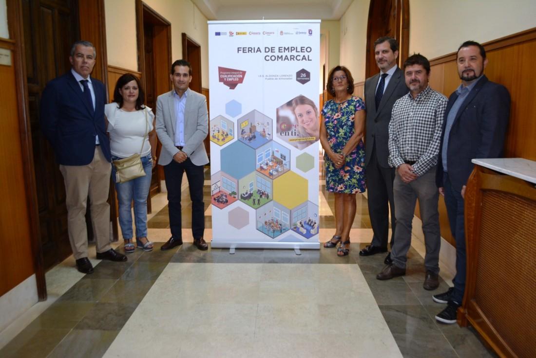 Presentación Feria del Empleo Puebla de Almoradiel