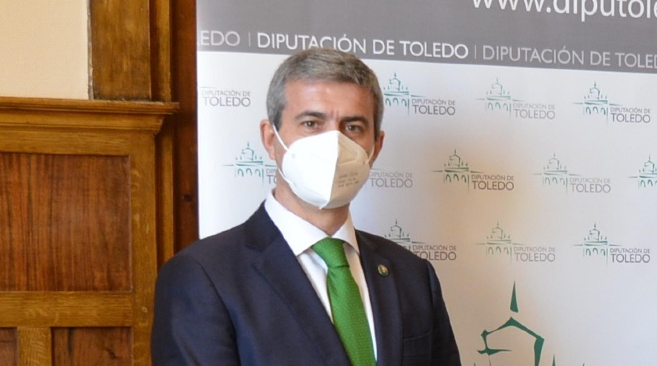 Álvaro Gutiérrez, presidente de la Diputación de Toledo en una imagen de archivo