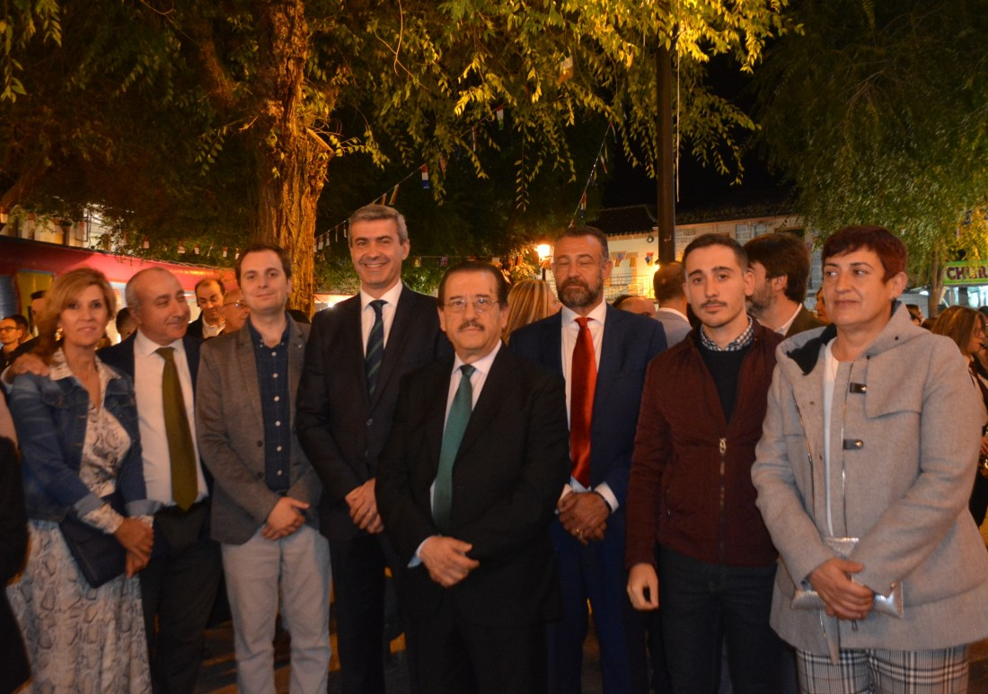 Álvaro Gutiérrez y Rubén Calvo, alcalde de Pulgar