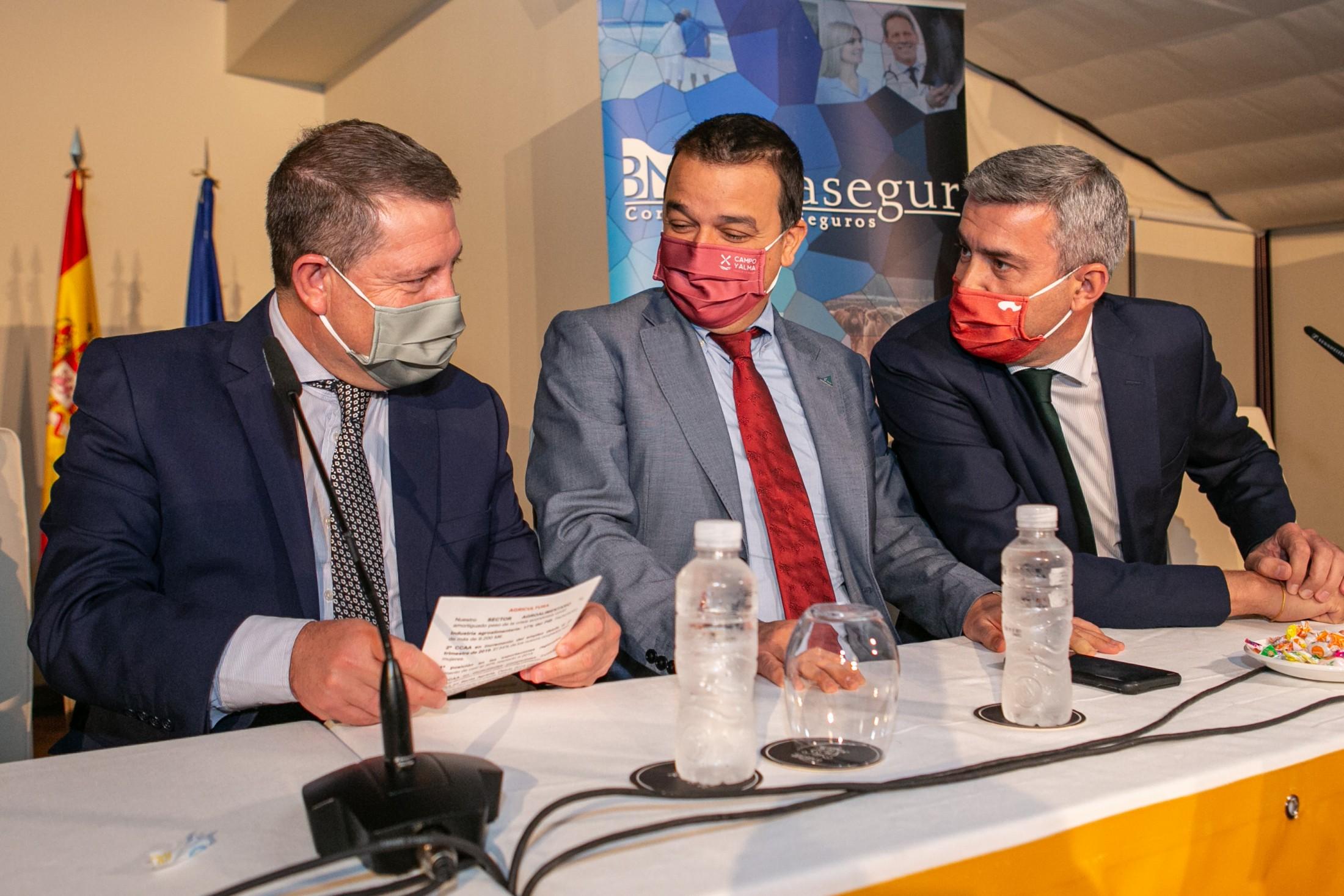Álvaro Gutiérrez en la clausura de las jornadas de ASOPROVAC