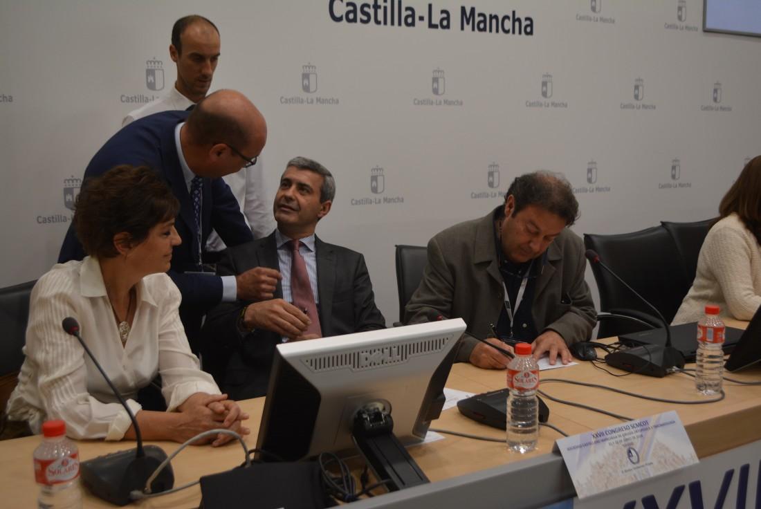 Álvaro Gutiérrez en la inauguración del Congreso