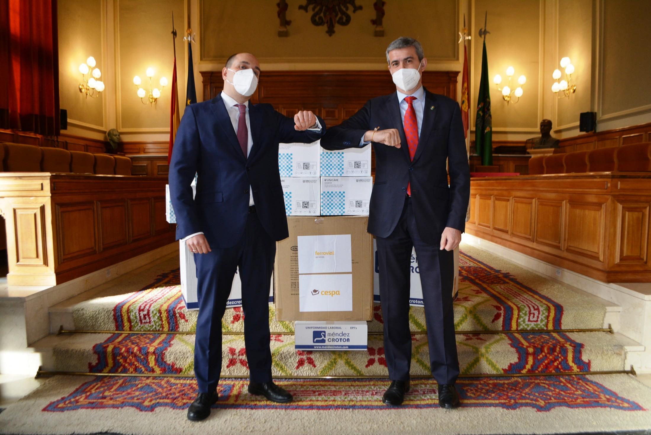 Álvaro Gutiérrez y Gonzalo Cañete