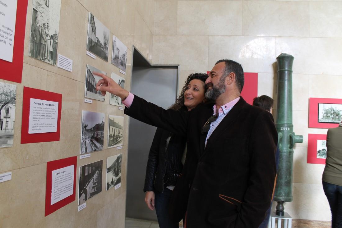 Rafael Martín visita la exposición