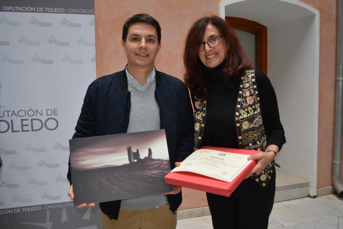 Álvaro Gutiérrez con todos los premiados