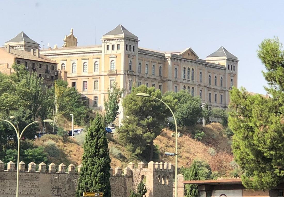 Foto de archivo fachada Diputación de Toledo