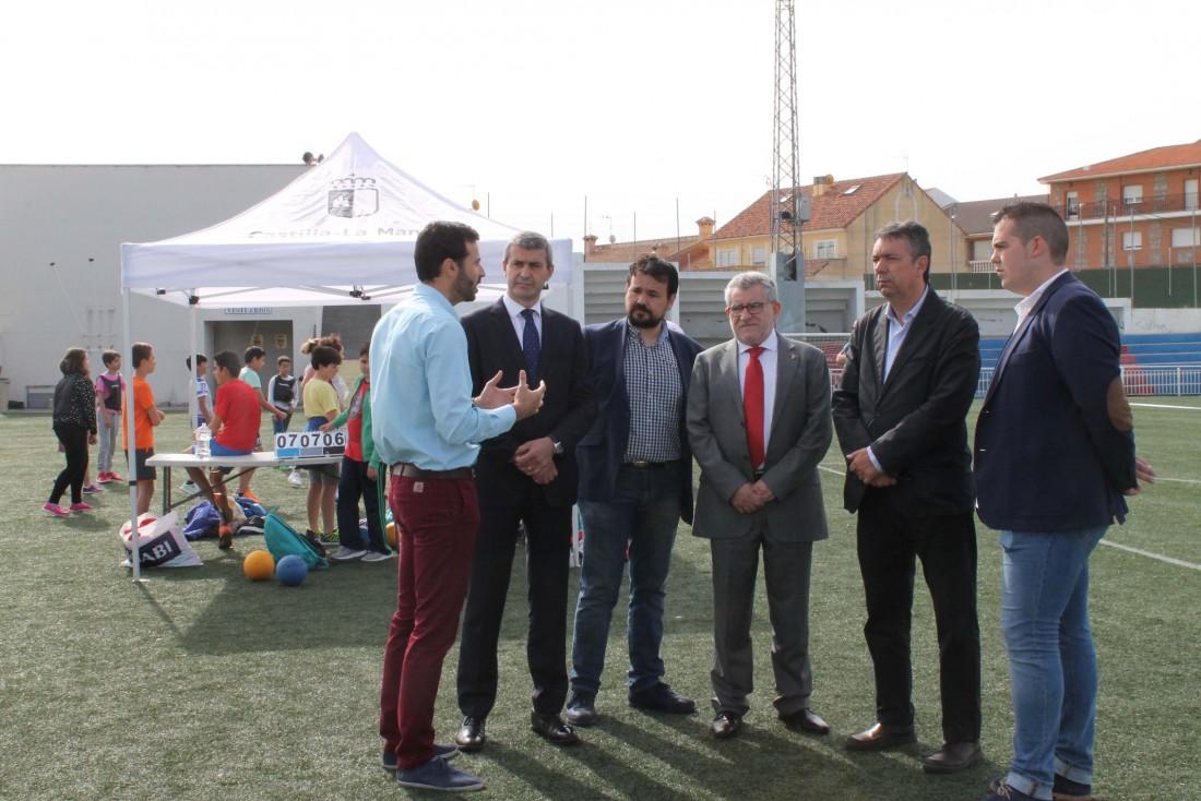 Colaboración Diputación.Junta de Comunidades para el deporte en edad escolar