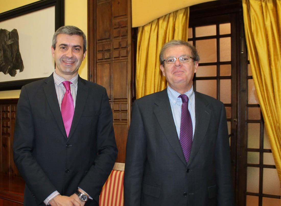Álvaro Gutiérrez y Miguel Ángel Collado (archivo)