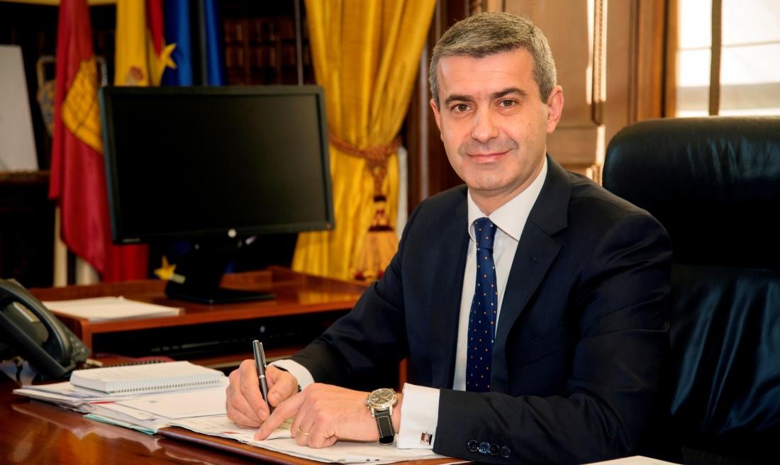 El presidente de la Diputación de Toledo, Álvaro Gutiérrez