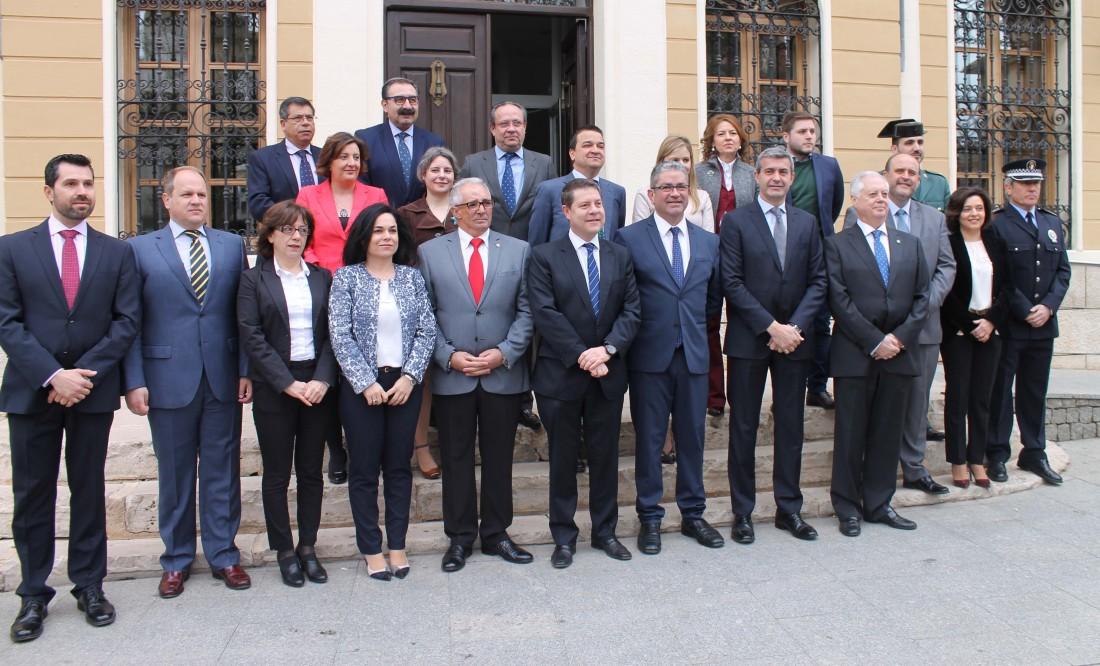 Álvaro Gutiérrez asiste al Consejo de Gobierno regional en Quintanar de la Orden