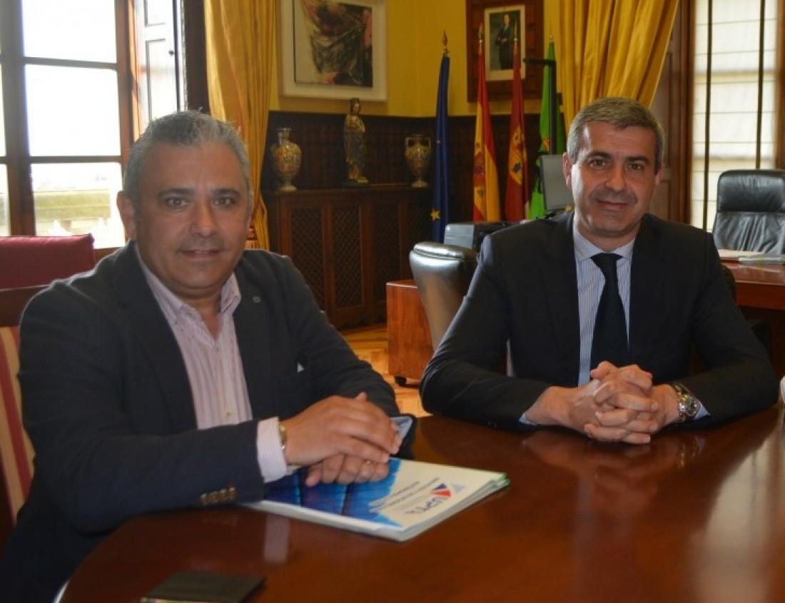 Álvaro Gutiérrez y Cesar García UPTA (archivo)