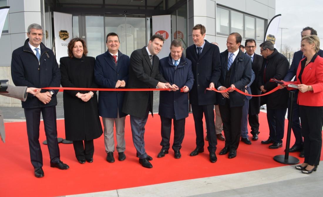 Inauguración de la nueva planta