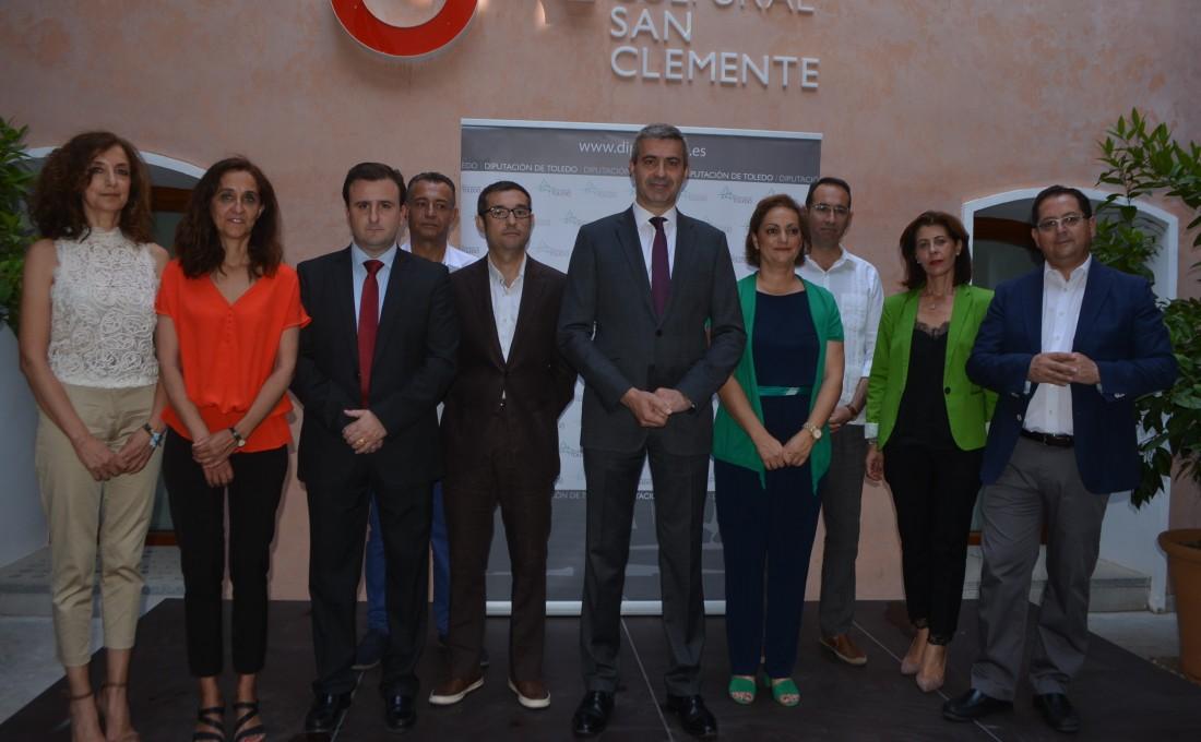 Álvaro Gutiérrez hace balance, junto a todo su equipo, de los tres años de legislatura