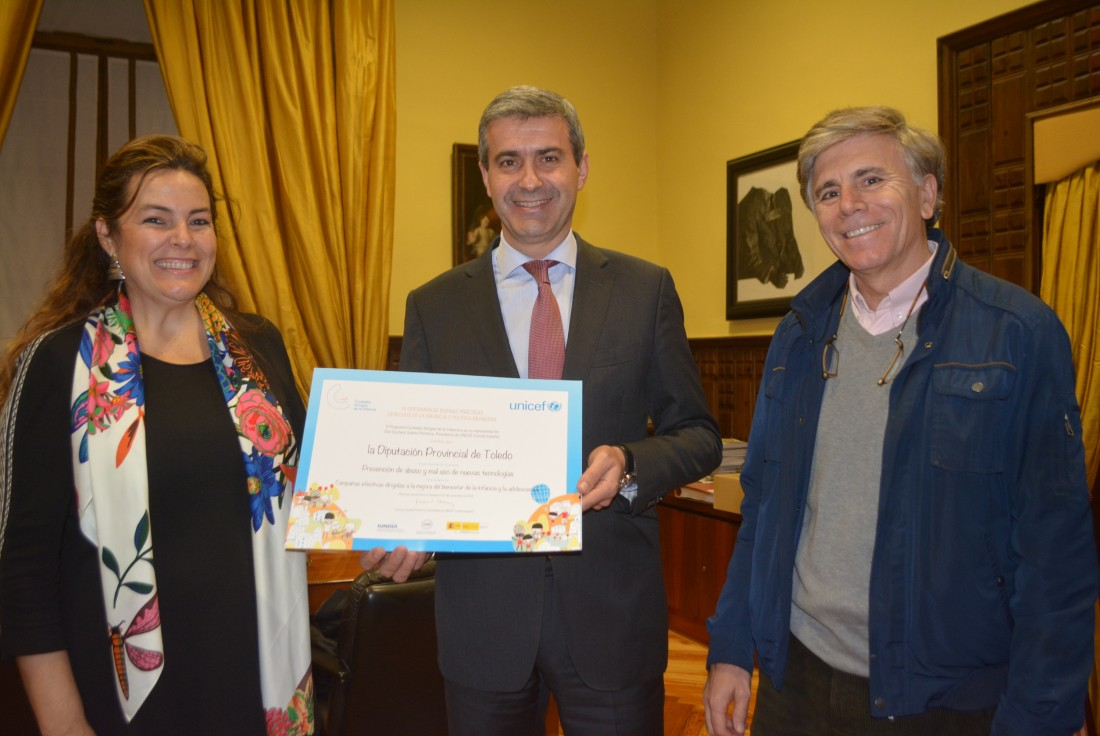 Álvaro Gutiérrez, Asunción Díaz del Fresno e Isamel Higueras