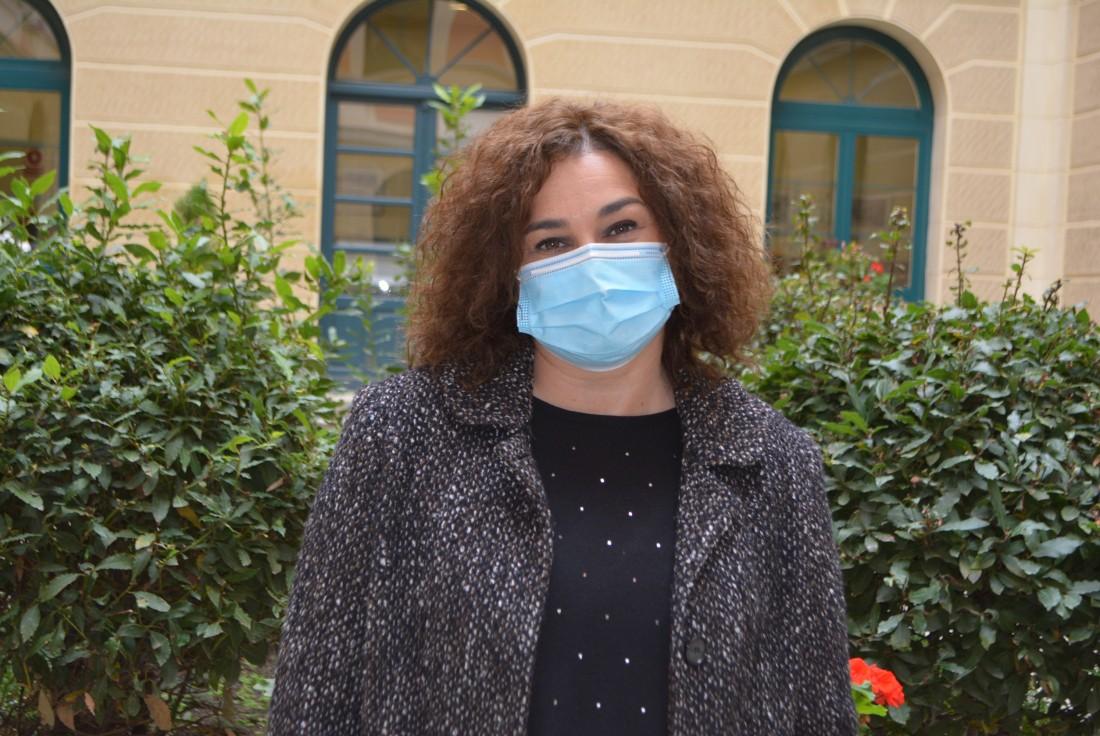 Cristina Cebas, diputada provincial de Educación y Cultura
