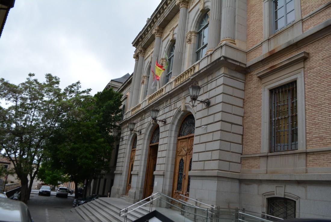 Entrada principal de la Diputación de Toledo