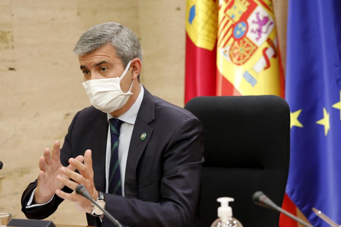 Álvaro Gutiérrez en la Comisión No Permanente de Estudio para un Pacto contra el despoblamiento