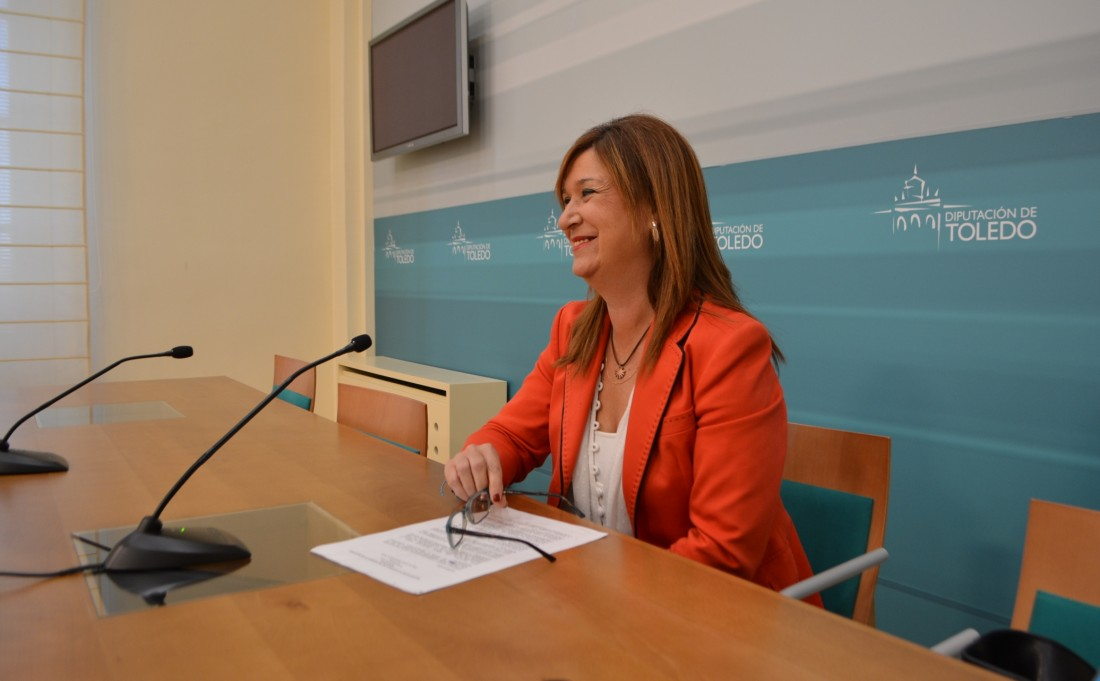 María Jesús Pérez durante la rueda de prensa