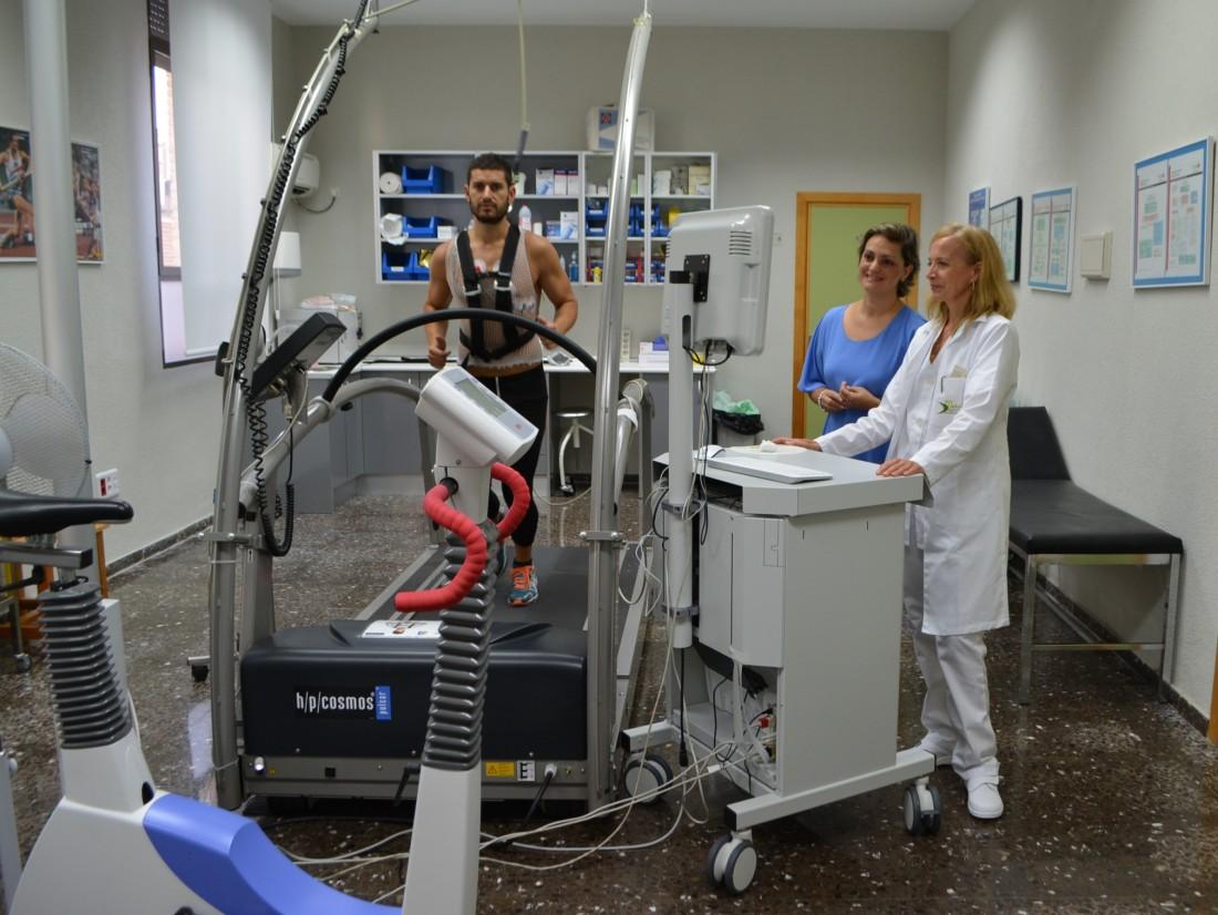 Foto de archivo del Servicio Medicina Deportiva