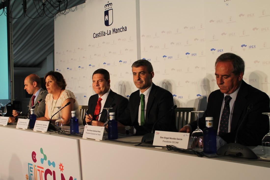 Álvaro Gutiérrez en la inauguración del I Foro para la innovación y la tecnología