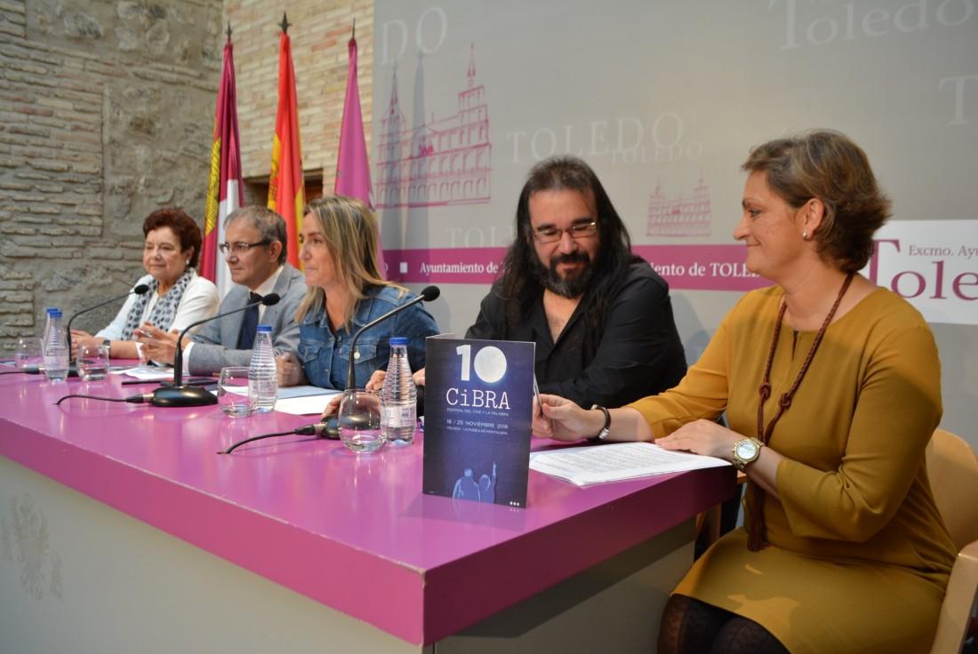 María Ángeles García en la presentación de Cibra 2018