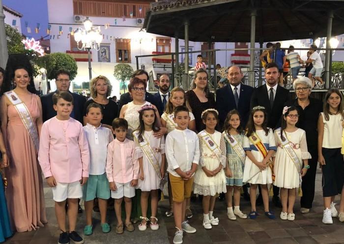 Ángel de Vega en las fiestas de Villarrubia de Santiago