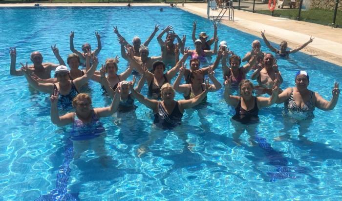 Cursos de natación para mayores