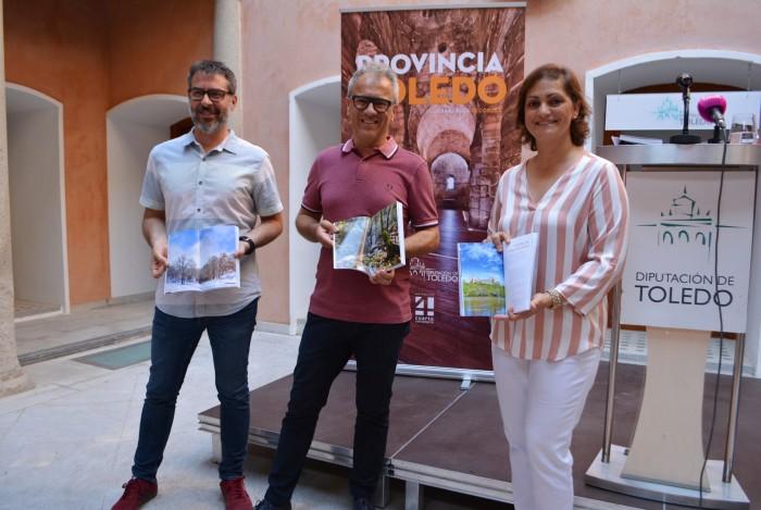 Presentación de la guía (María Ángeles García, Francisco del Valle y David Blázquez)