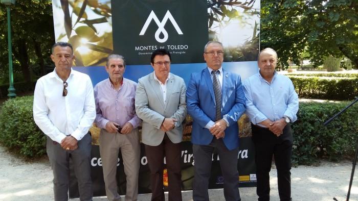 Rafael Martín en la jornada de promoción del aceite de oliva virgen extra de Toledo