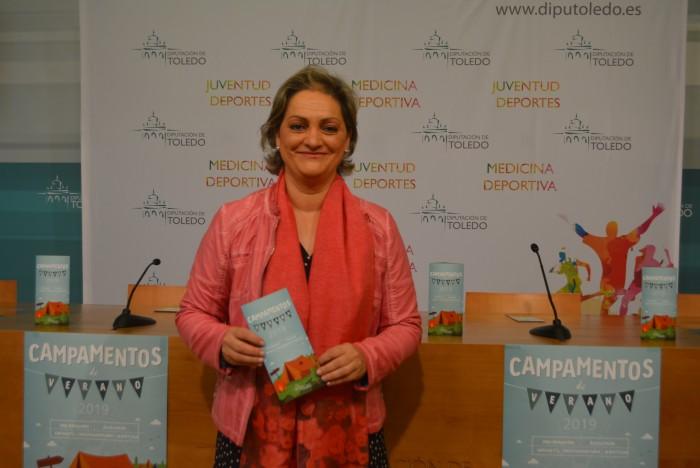 María Ángeles García informa de los campamentos de verano de la Diputación para 2019