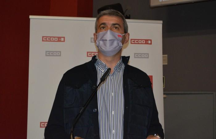 Álvaro Gutiérrez en el XII Congreso de CCOO en Toledo