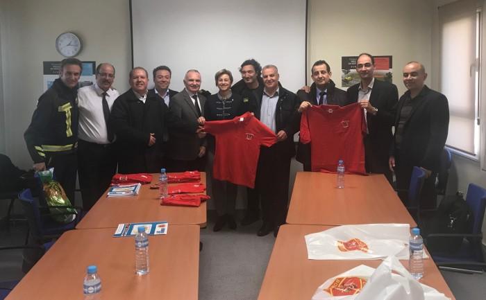 Visita delegación argelina al CORE